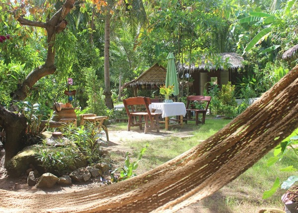 hamock in garden Thailand