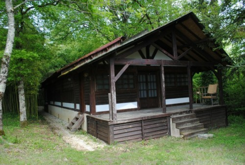 Old Zen meditation hall