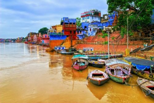 Ghats on Ganges