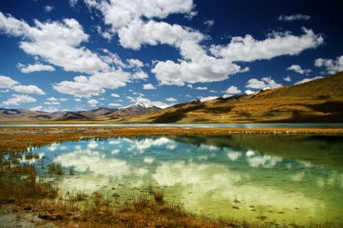 Tso Kar lake